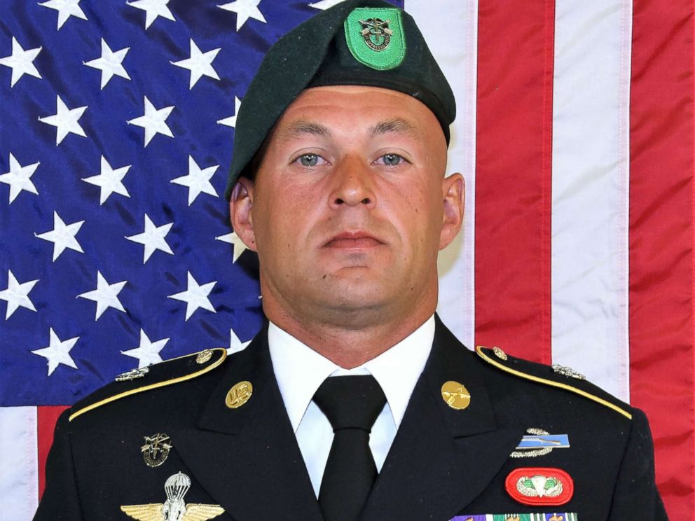 PHOTO: Sgt. 1st Class Mihail Golin, an 18B Special Forces Weapons Sergeant assigned to 10th Special Forces Group (Airborne), died Jan. 1, 2018, as a result of wounds he sustained while engaged in combat operations in Nangarhar Province, Afghanistan.