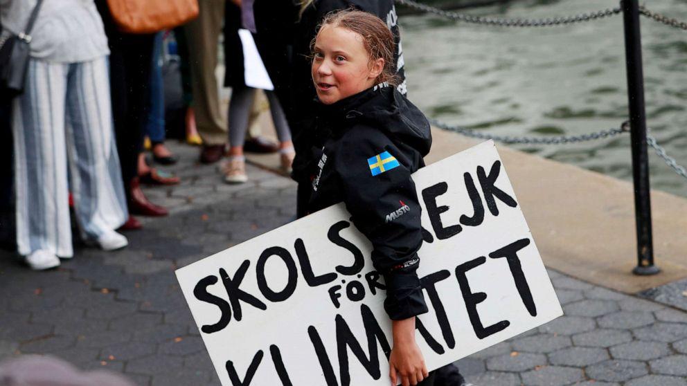 Greta Thunberg Rede New York