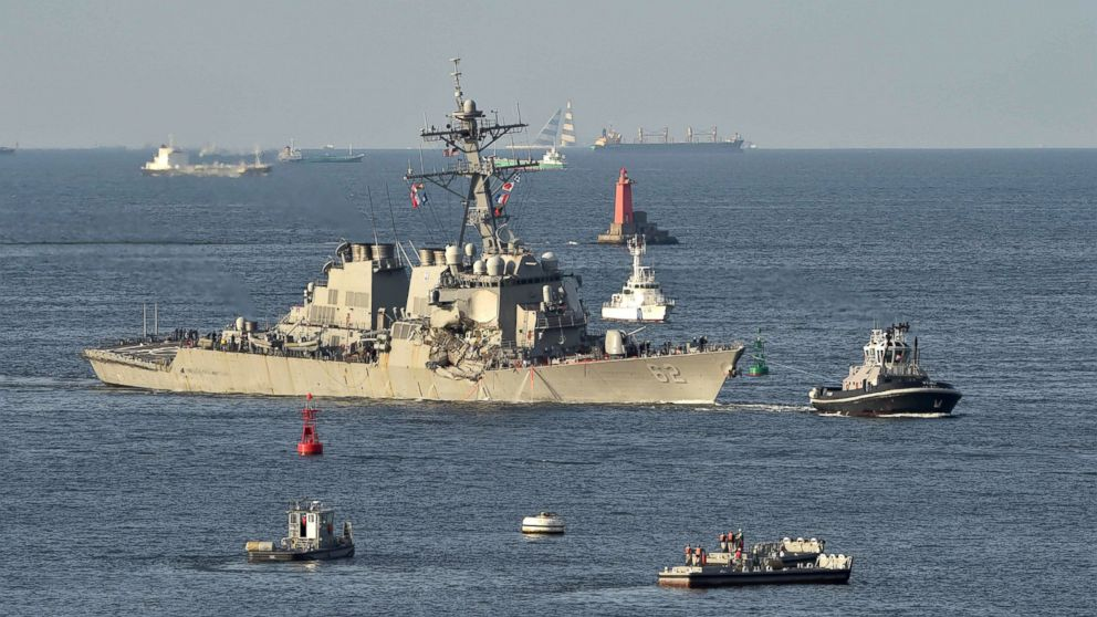 What We Know About Navy Destroyers Deadly Collision With A