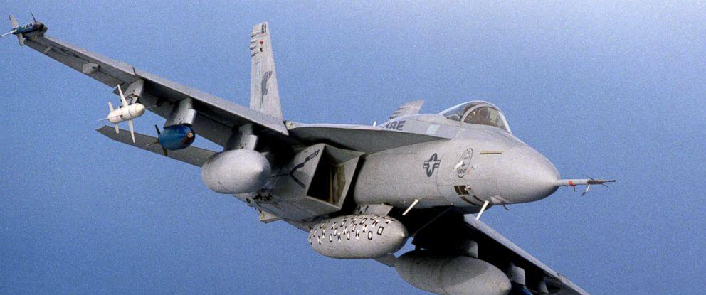 PHOTO: The F/A-18E Super Hornet, a strike-fighter aircraft, flies above the ocean, Feb. 21, 1997.