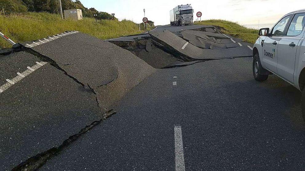 Risultati immagini per A destructive earthquake New Zealand two years ago