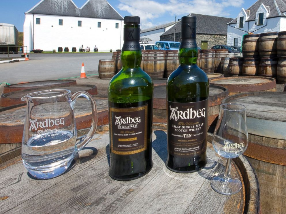 PHOTO: Ardbeg Distillery, Islay.