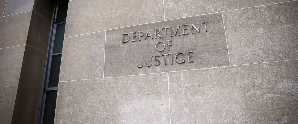 PHOTO: The U.S. Department of Justice is shown Sept. 25, 2014 in Washington.