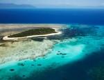 PHOTO: Aerial of Green Island, Great Barrier Reef Marine Park, Australia.