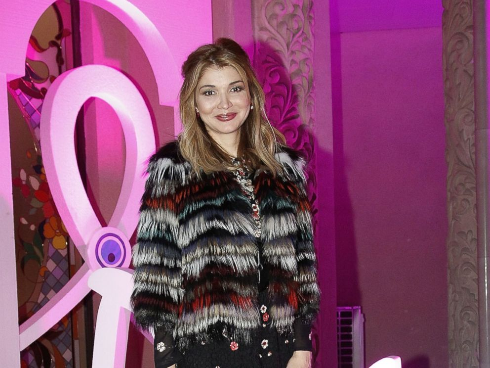PHOTO: H.E. Dr Gulnara Karimova, Chairwoman of the Board of Trustees Fund Forum attends a benefit gala dinner in support of women diagnosed with breast cancer feat during Style.Uz Art Week 2013 on Oct. 23, 2013 in Tashkent, Uzbekistan.
