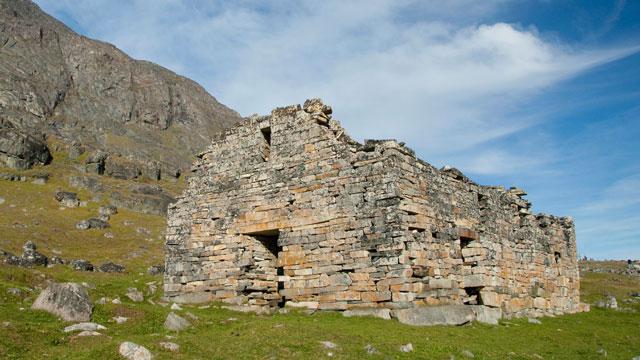 PHOTO: Ruins of Hvalsey Church, Hvalsey, Qaqortoq, Greenland.