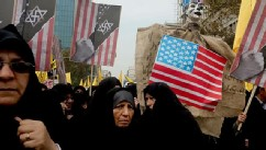 Anti-American Iran Demonstrations