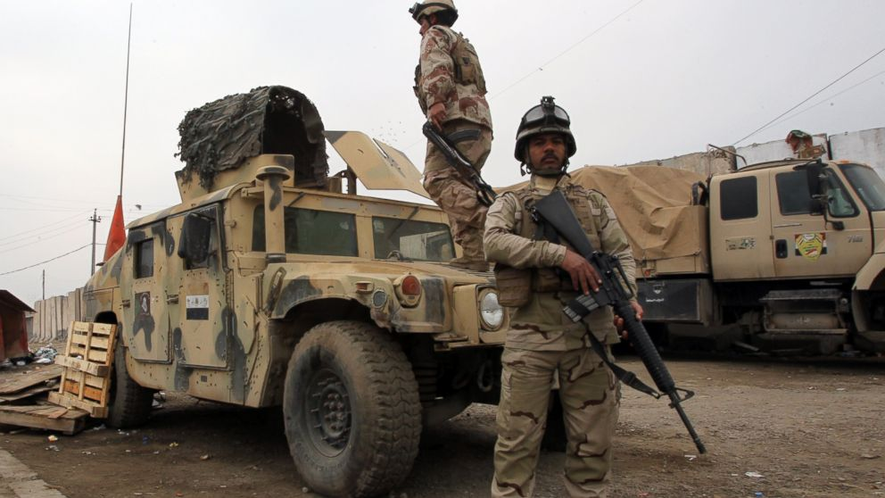 S Humvees And Ammo Were Left Behind By The Iraqi Army