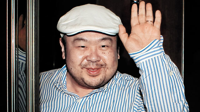 PHOTO: Kim Jong-Nam, the eldest son of North Korean leader Kim Jong-Il, waves after an interview with South Korean media representatives in Macau, June 4, 2010.