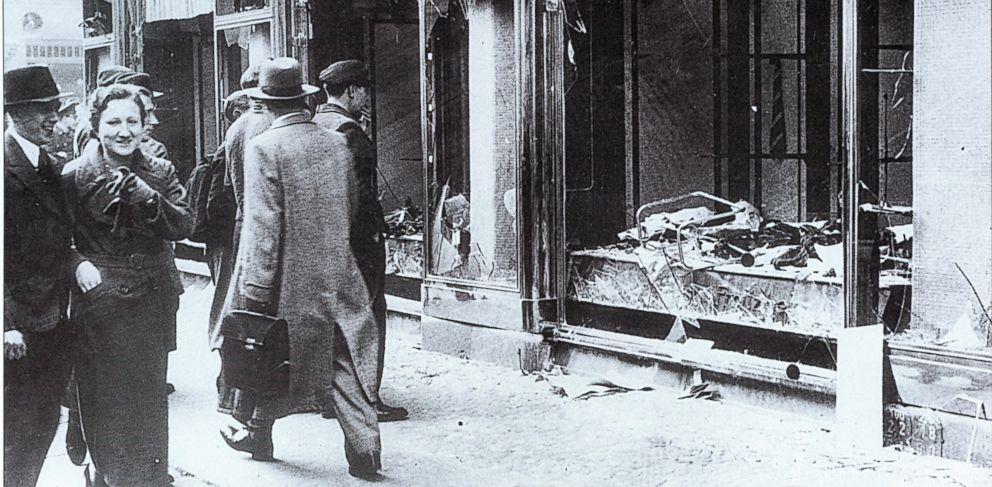 Marker team that is Jewish recalls Kristallnacht on anniversary