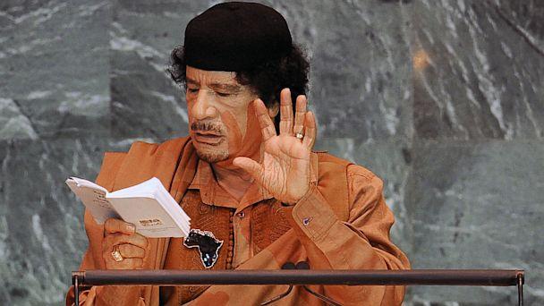PHOTO: Moammar Gadhafi