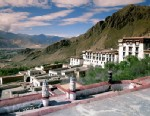 PHOTO: Drepung Monastery and Valley of Lhasa are shown in Lhasa, Tibet.