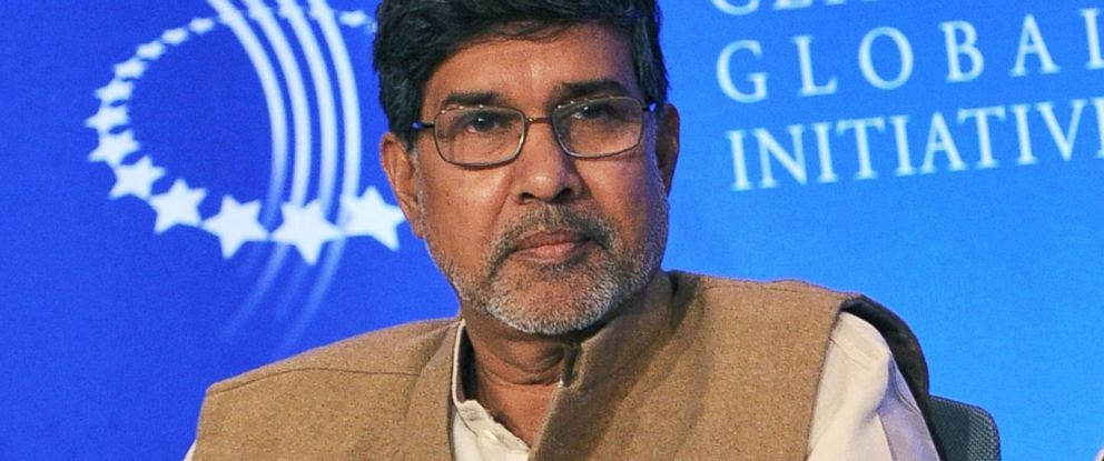 PHOTO: Kailash Satyarthi attends a human trafficking special session during the 2009 Clinton Global Initiative on Sept. 24, 2009 in New York City.