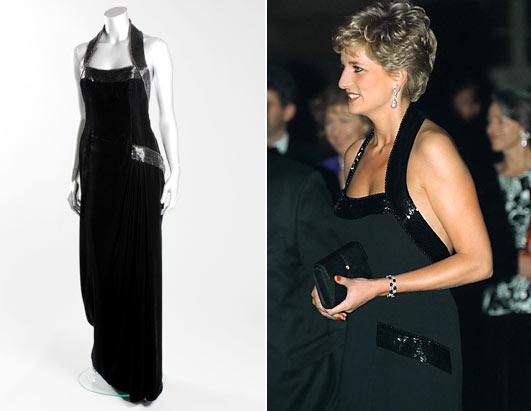 Iconic Princess Diana Dresses To Be Auctioned Picture Abc News