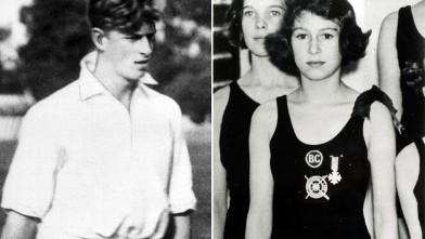 PHOTO: Elizabeth and Philip met when they were 13 and 18, respectively.