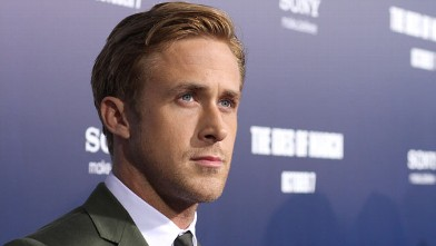 """PHOTO: Ryan Gosling at the premier for """"The Ides of March"""", Sept. 27, 2011 in Beverly Hills, California."""