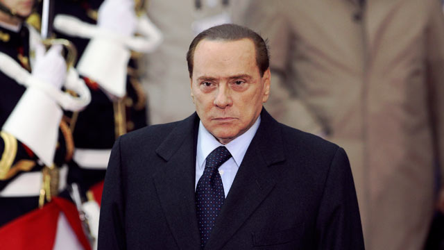 PHOTO: Silvio Berlusconi, Italys prime minister, leaves after attending the the Group of 20 Summit, in Cannes, France, Nov. 3, 2011.