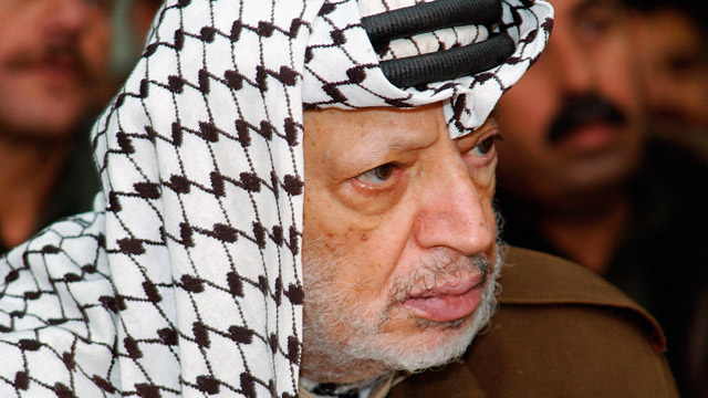 PHOTO: Yasser Arafat