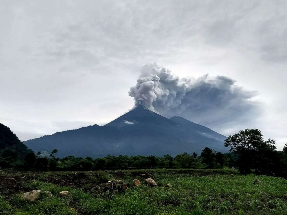 Children Burned In Guatemala Volcano Eruption To Be