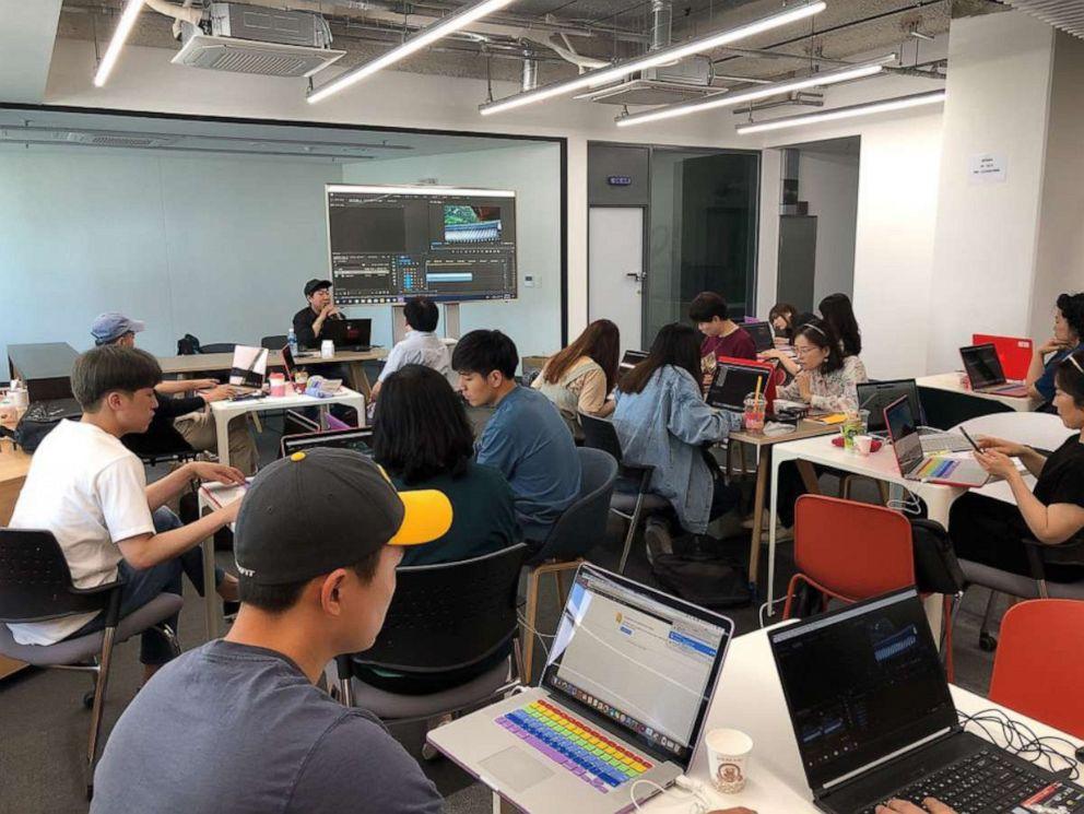 PHOTO: Gyeonggi Content Agency, a government-run organization, provides complimentary YouTube training programs in Gyeonggi-do.