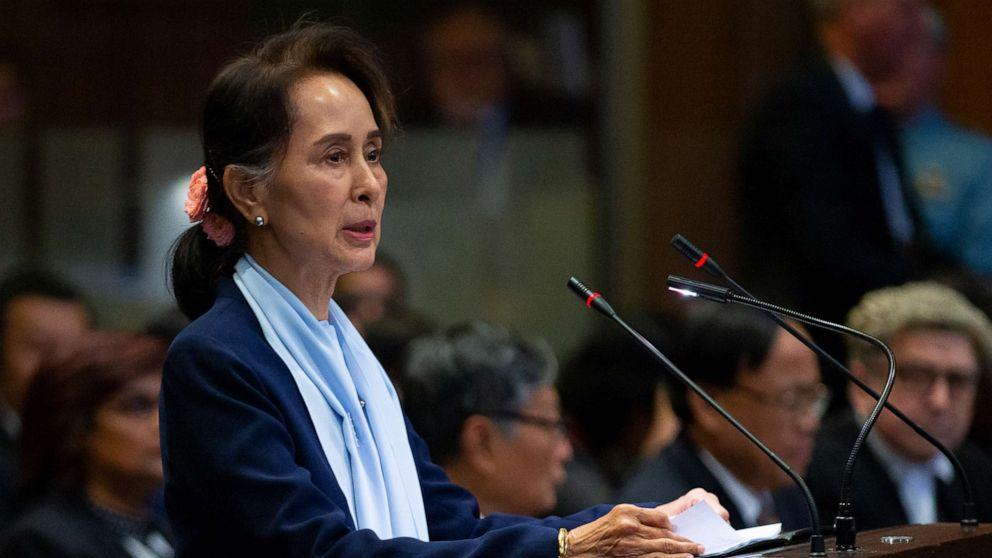 Myanmar leader, Nobel Prize winner Aung San Suu Kyi says genocide claims 'misleading'