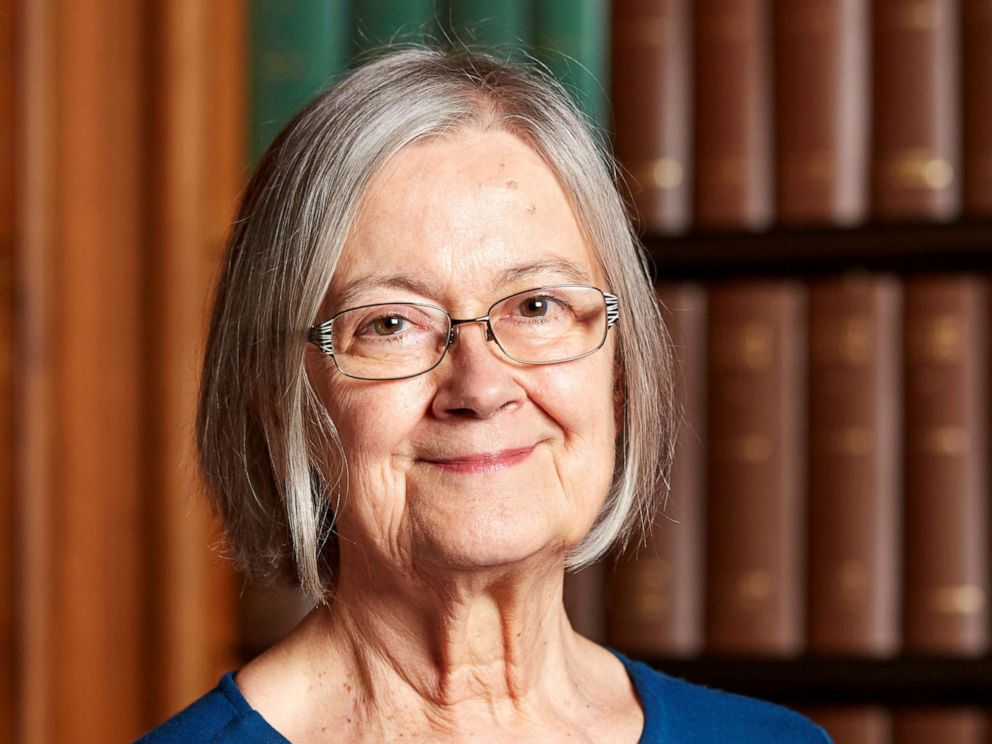 PHOTO: Lady Brenda Hale, President of the Supreme Court of the United Kingdom is pictured in this handout photo taken at the Supreme Court building in July 2016.