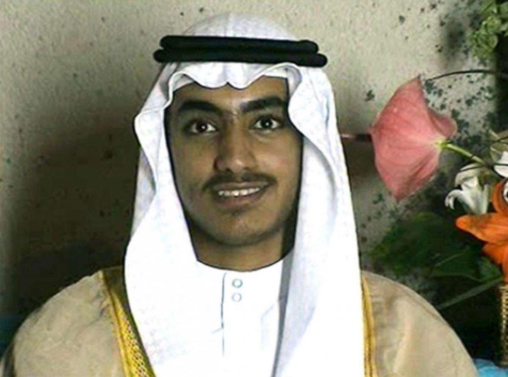 PHOTO: Hamza bin Laden is seen at his wedding in a video released by the CIA on Nov. 1, 2017.