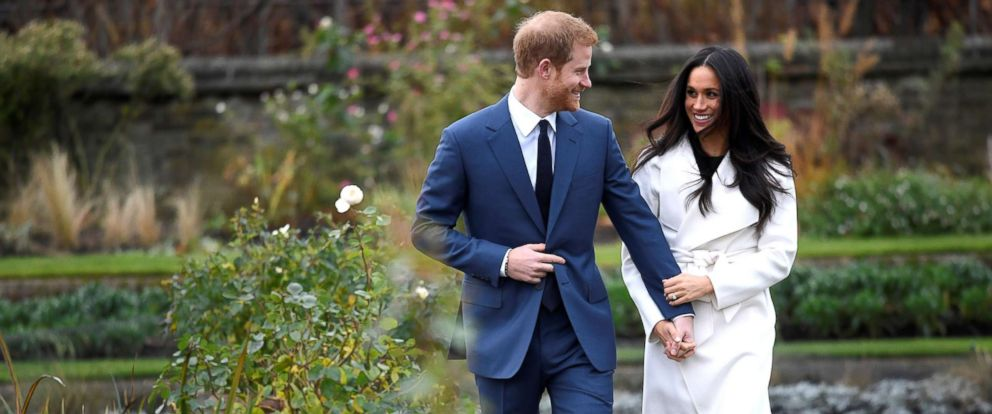 Image result for harry and meghan wedding engagement announced