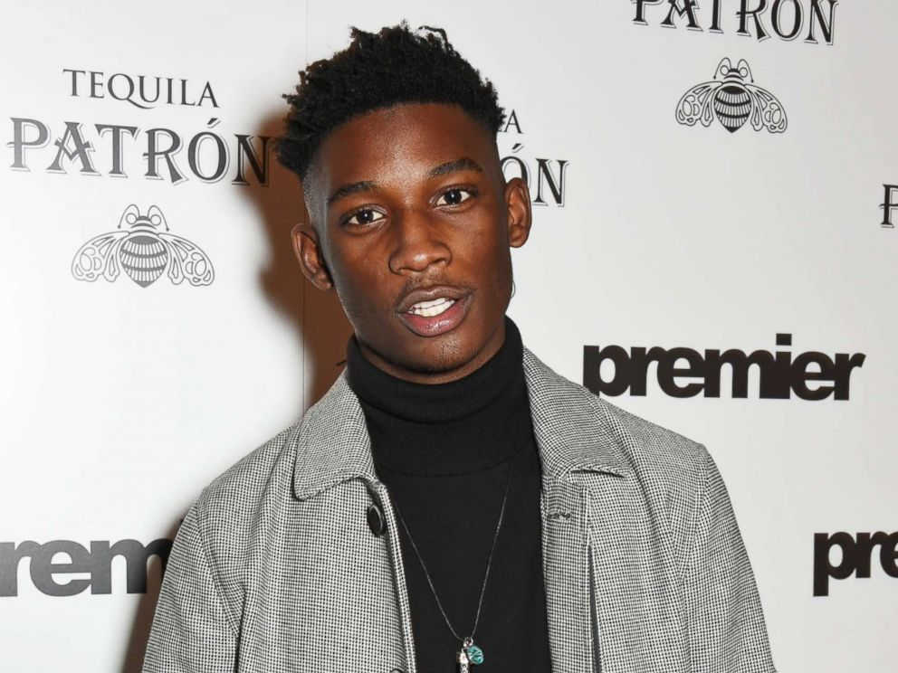 PHOTO: Harry Uzoka attends the launch of Premier Model Management founder Carole Whites autobiography Have I Said Too Much?: My Life In and Out of the Model Agency at Cafe Royal, Feb. 18, 2015 in London.