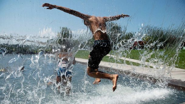 Dangerous heat wave scorches millions in Midwest, East Coast