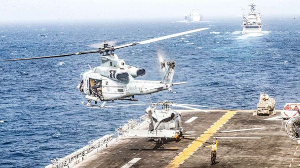 Trump says US Navy ship destroys Iranian drone in Strait of Hormuz