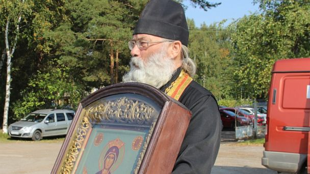 Russian priests spray holy water from plane to stop 'alcohol use' and 'fornication'