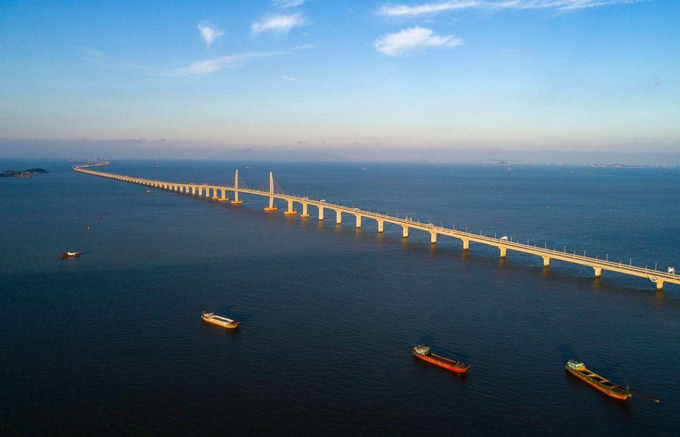 PHOTO: The new Hong Kong-Zhuhai-Macau Bridge, May 19, 2018 in Zhuhai, Guangdong Province, China.