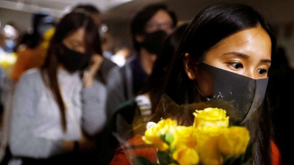 Hong Kong protesters blame police for death of university student thumbnail