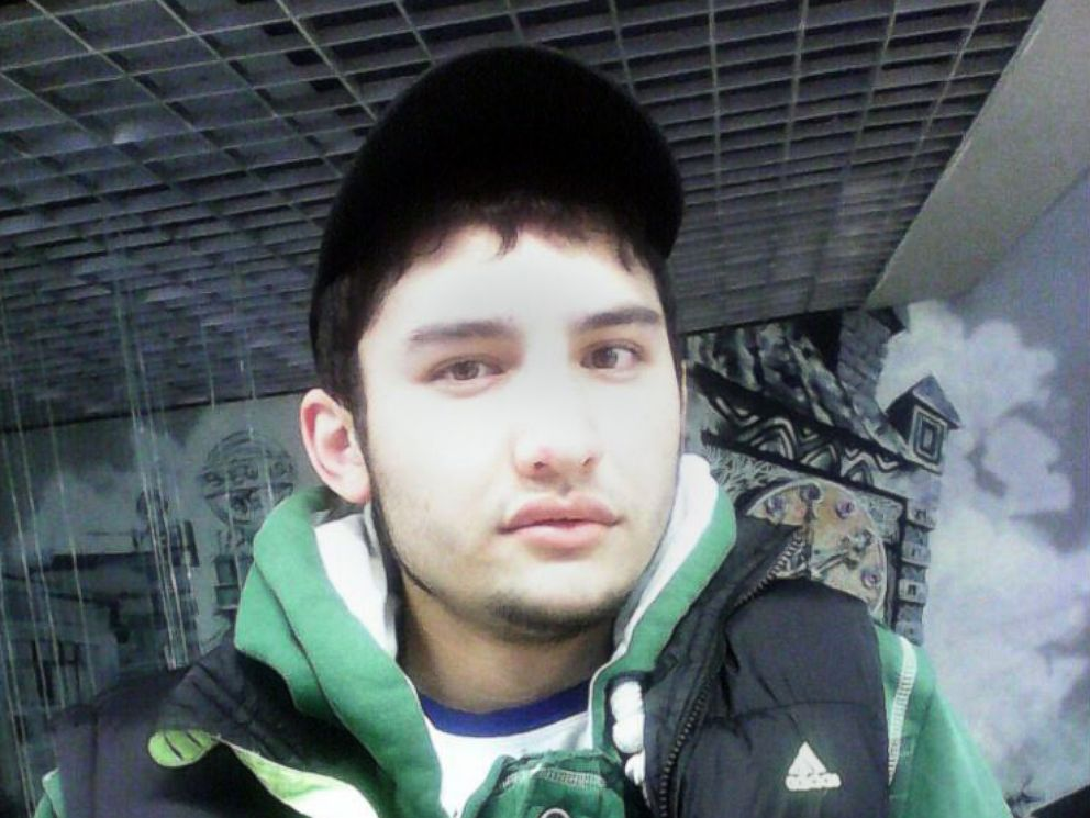 PHOTO: Akbarjon Djalilov, the suspect in the attack on the metro train in St. Petersburg, Russia, in an image posted to social media and shared by Russian state media.