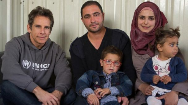 Ben Stiller shares stories from meeting with refugee families in Jordan: 'America has to set the example'