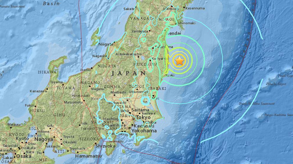 6 9-Magnitude Earthquake Strikes off the Coast of Japan: USGS - ABC News