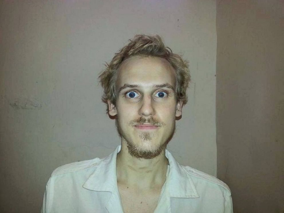 Former ISIS hostage Daniel Rye Ottosen is seen here in this undated photo taken while he was held captive.