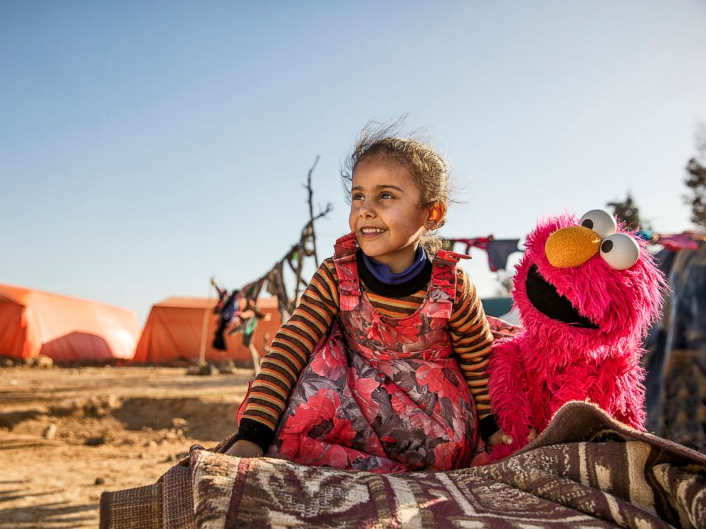 Sesame Workshop is working with the International Rescue Committee (IRC) to bring hope in the form of education to refugee children.