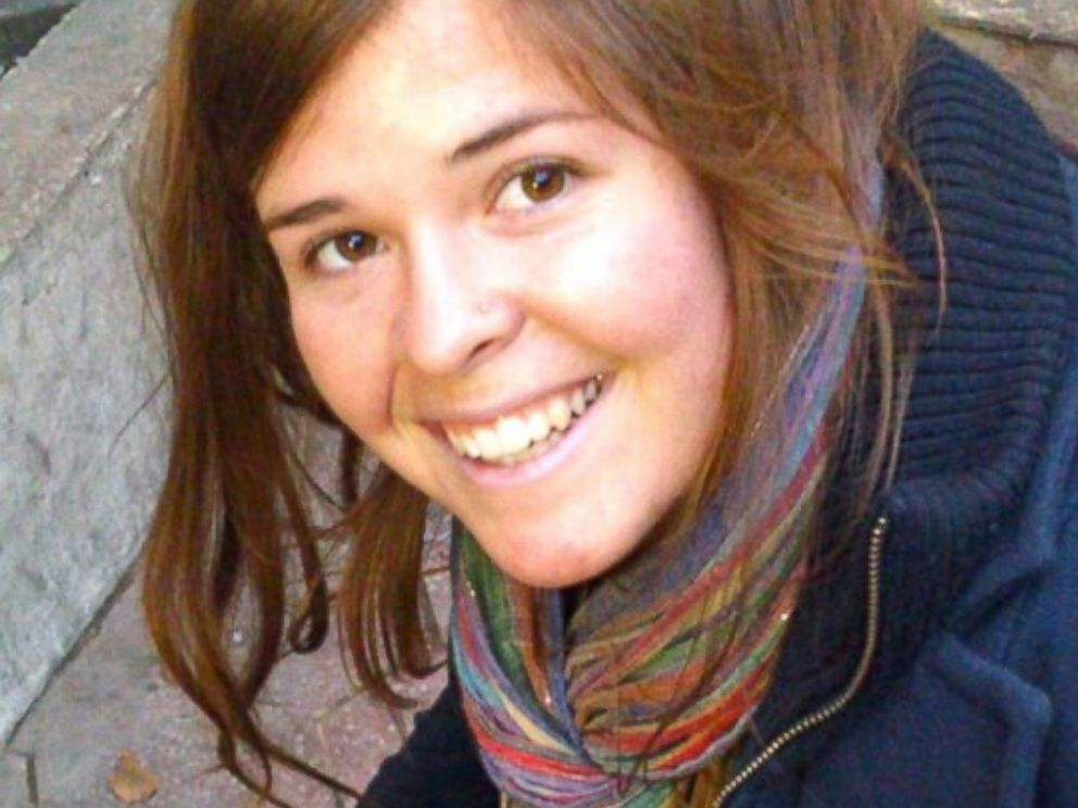 PHOTO: Kayla Mueller is seen in this undated handout photo. Mueller was kidnapped in Syria in August 2013.