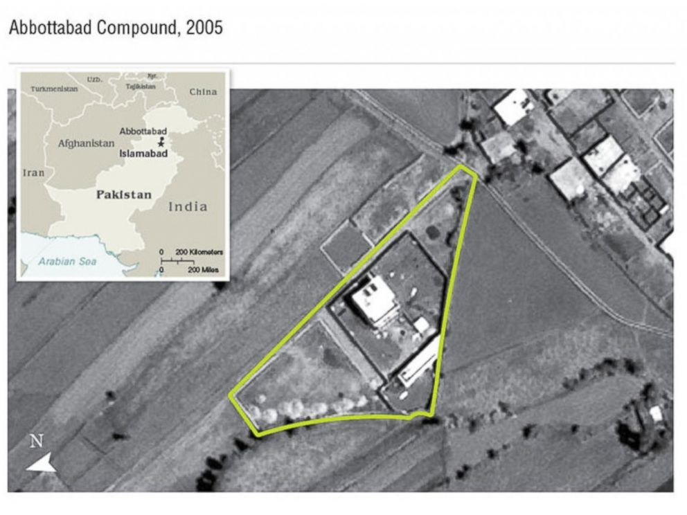 PHOTO: Satellite image shows Osama bin Ladens compound in Abbottabad, Pakistan.