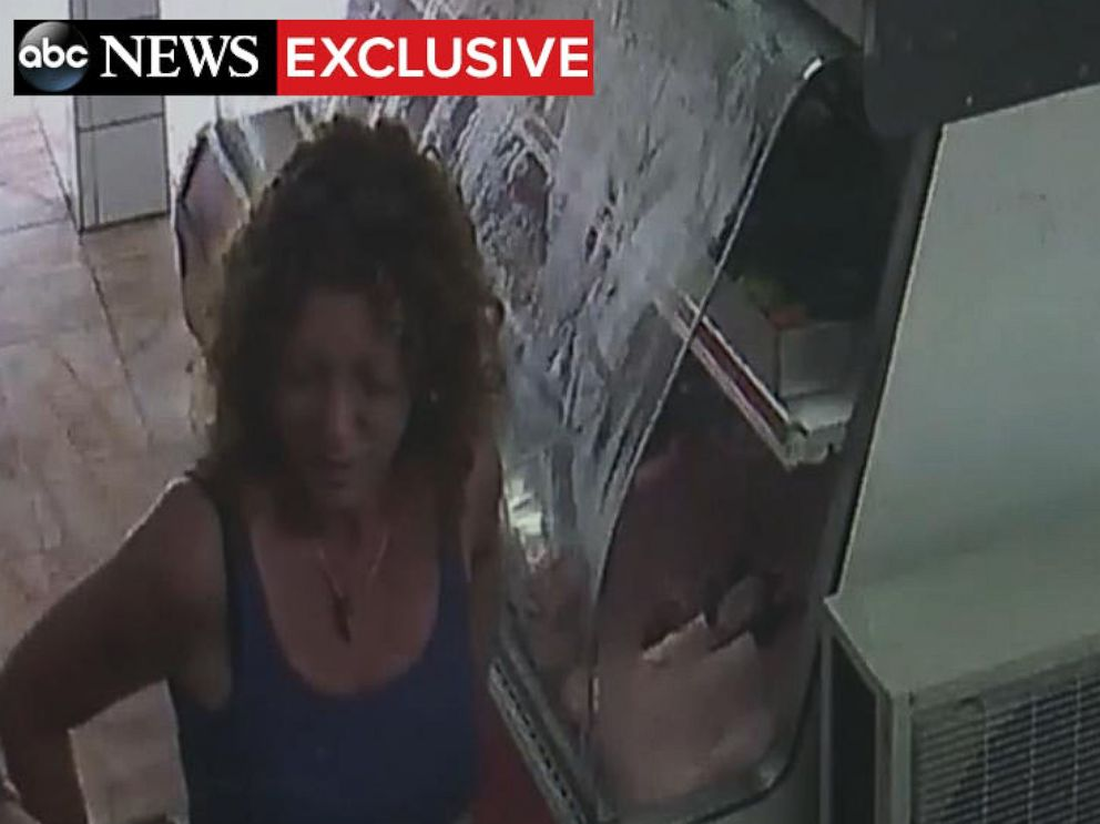 PHOTO: Ethans mother Tonya Couch was pictured at the butcher in Puerto Vallarta, Mexico on two consecutive days before they were arrested.