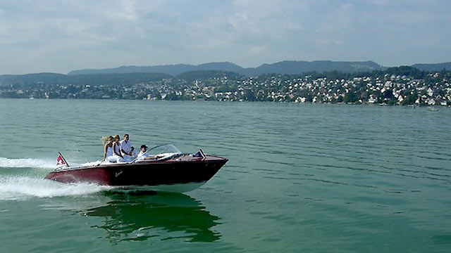 PHOTO: The Swiss manufacturer Boesch has become a leader in manufacturing stylish and functional electric boats.