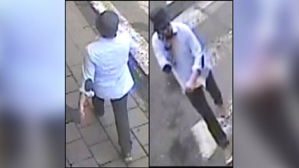 Belgian prosecutors released surveillance images of a man that they believe was the third attacker in the Brussels airport bombing, April 7, 2016.