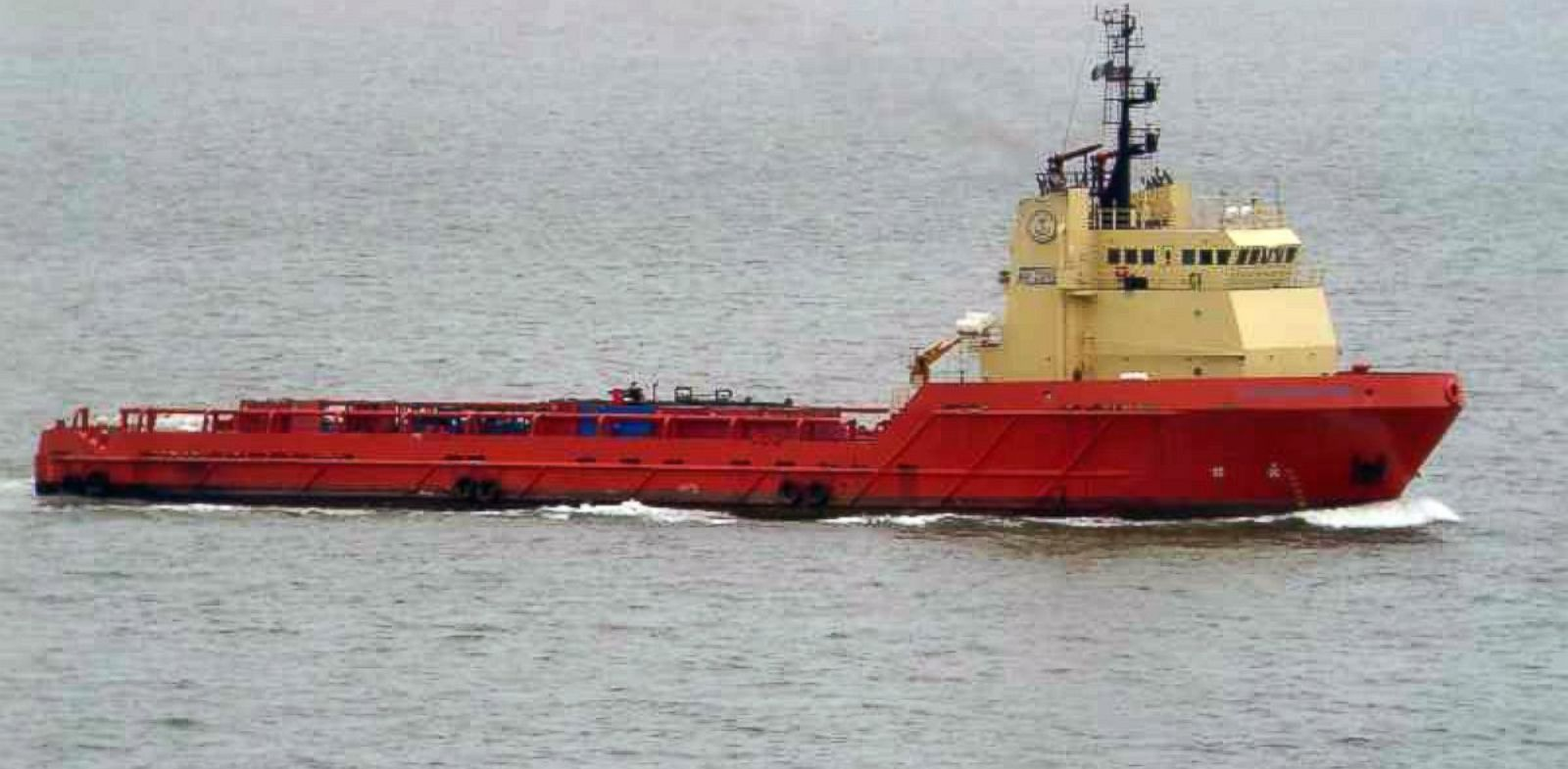 PHOTO: The C-Retriever is an oil supply vessel owned by U.S. marine transport group Edison Chouest Offshore.