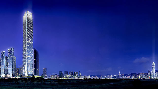 PHOTO: Shown here is the International Commerce Centre in Hong Kong.