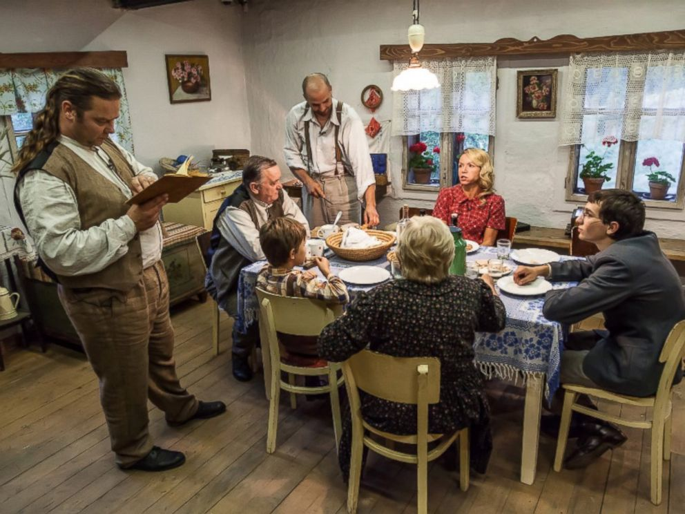 PHOTO: Czech TV show takes family back in time to live under Nazi control.