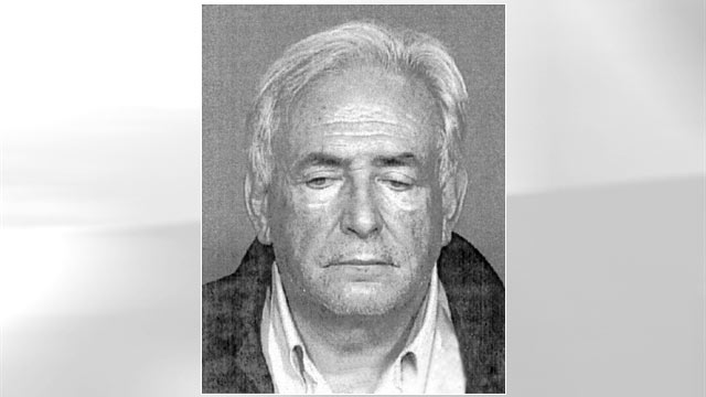 PHOTO: A mug shot of Dominique Strauss-Kahn, the IMF chief.