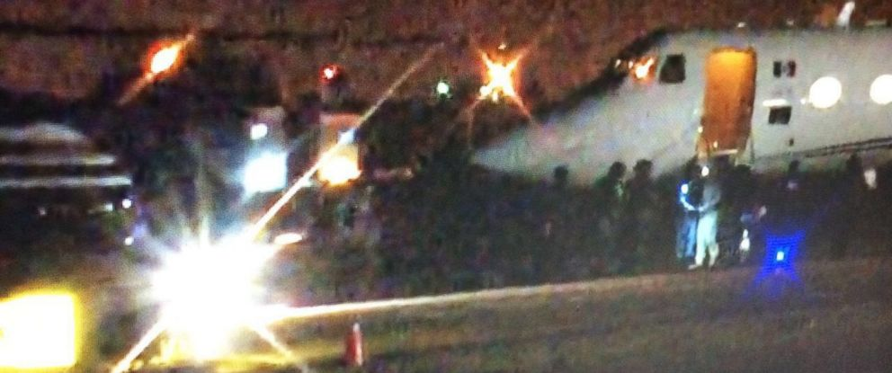 PHOTO: Mexican media says these images show El Chapo arriving in Ciudad Juarez during his early morning transfer.