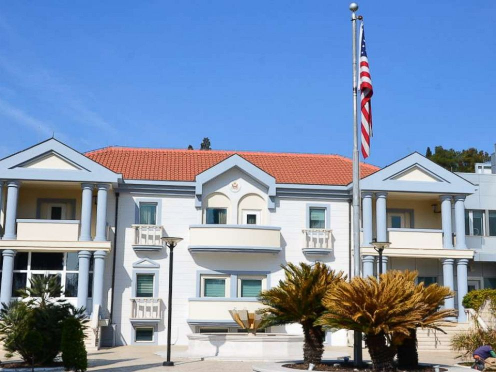 PHOTO: The U.S. embassy in Podgorica, Montenegro, in an undated photo from the State Department website.